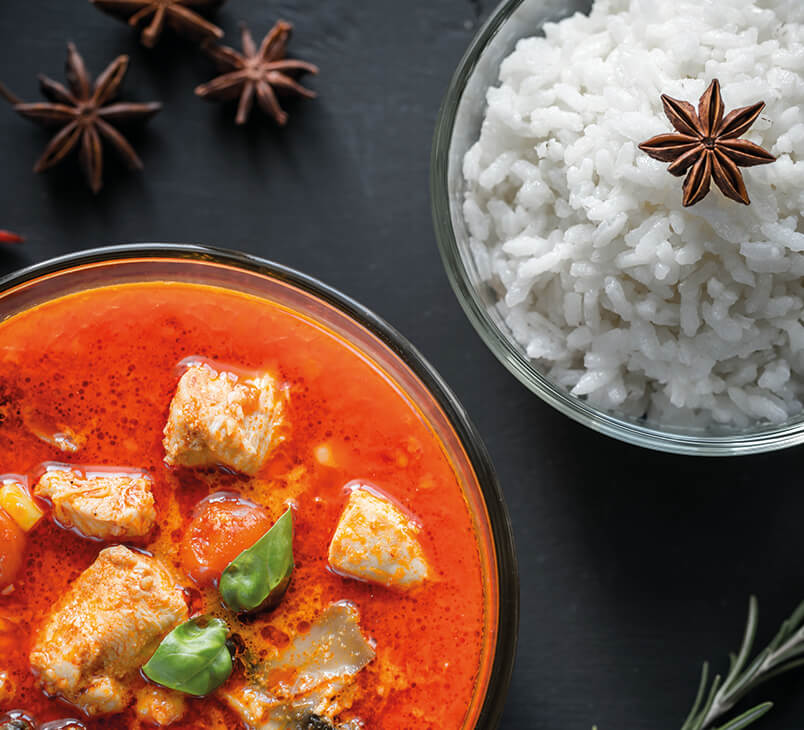 Red Curry Chicken/Beef